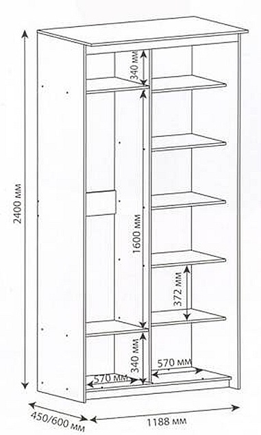 шкаф купе своими руками как самостоятельно сделать встроенный шкаф