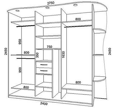Как сделать шкаф купе своими руками фото