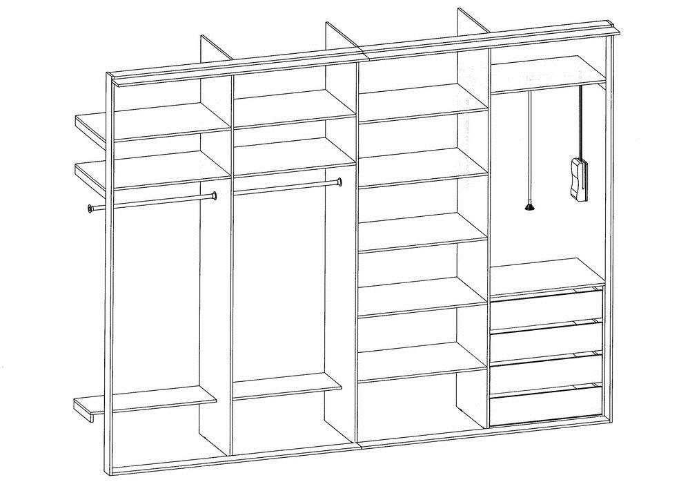 схема шкаф купе своими руками