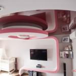 Дизайн потолка из гипсокартона (27)