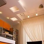 Дизайн потолка из гипсокартона (18)
