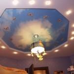 Дизайн потолка из гипсокартона (20)