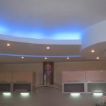 Дизайн потолка из гипсокартона (9)
