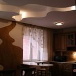 Дизайн потолка из гипсокартона (2)