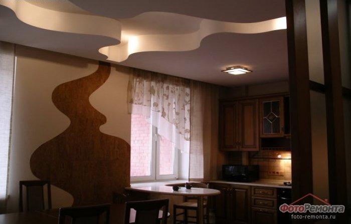 Гипсокартонные потолки для кухни своими руками