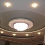 Дизайн потолка из гипсокартона (3)