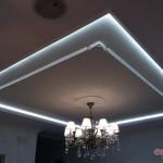Дизайн потолка из гипсокартона (30)