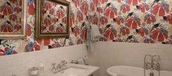 Обои для ванной комнаты фото