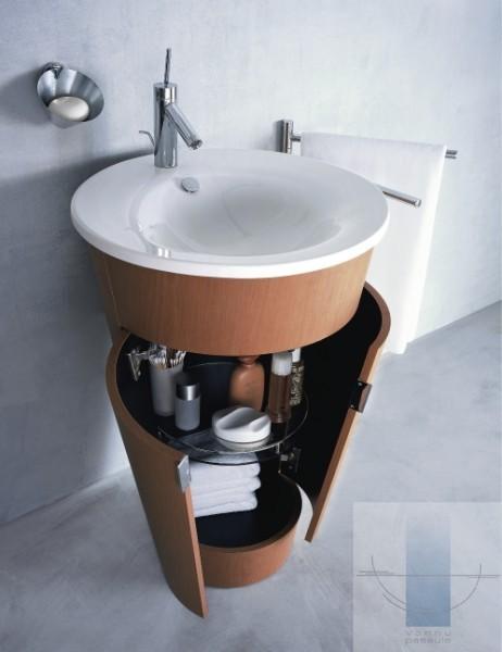 компактная мебель для ванной фото