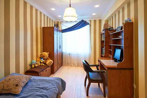 Комната для подростка в стиле пиратского корабля