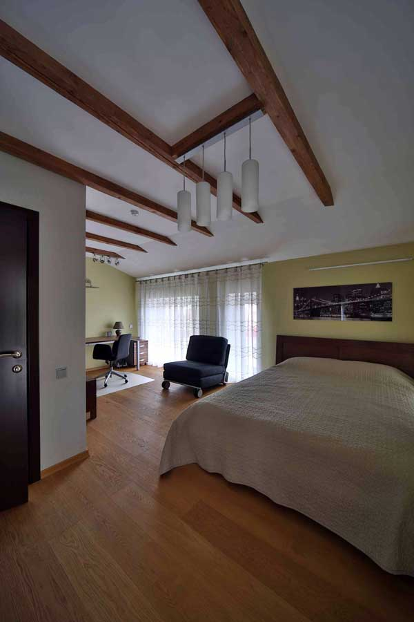 Спокойный дизайн комнаты для подростка