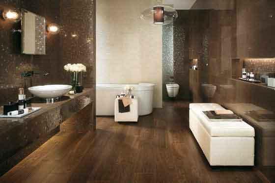 выбрать плитку в ванную комнату