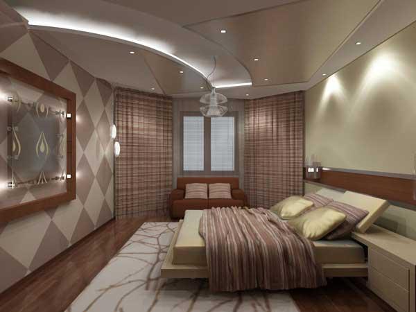 Оформление спальни в стиле семейное гнездышко
