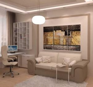 Дизайн интерьера и планировка квартиры 36 кв м