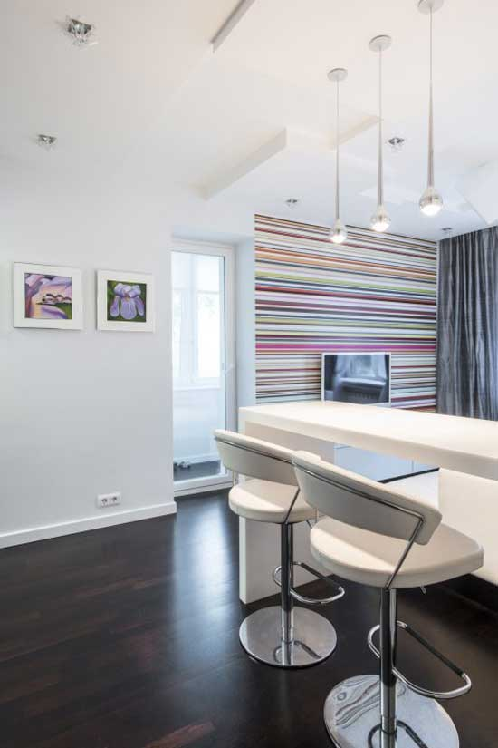 Совмещенная гостиная с кухней многоуровневый гипсокартонный потолок