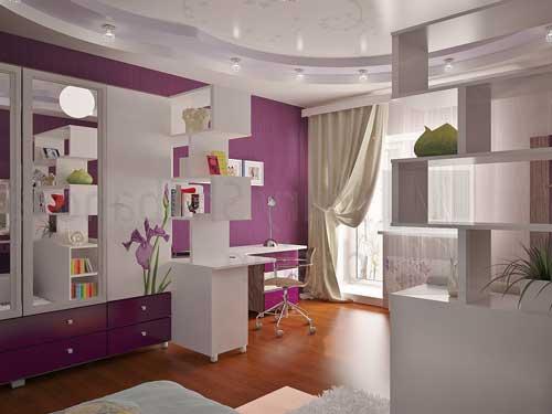 Комнаты для девушек 14 лет фото