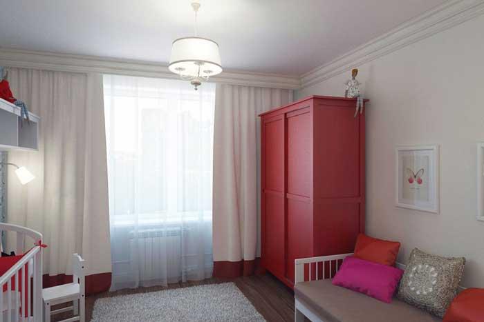 Оформление небольшой детской комнаты мебелью из IKEA