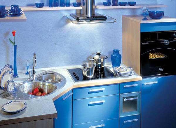 Кухня угловая маленькая фото