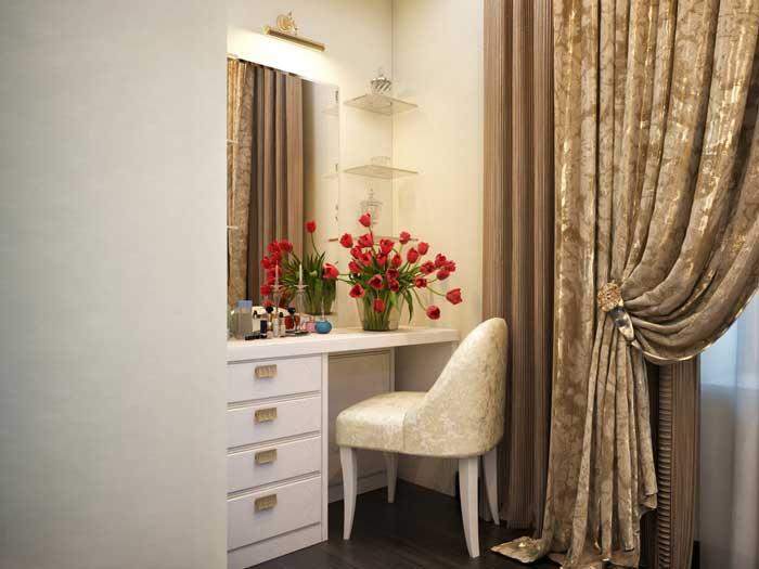 Идея ремонта спальни в классическом стиле