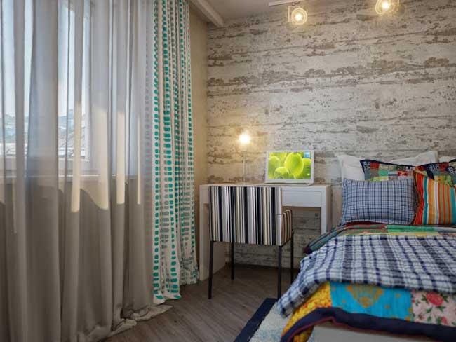 Ремонт спальни. Дизайн проект спальни в стиле кантри