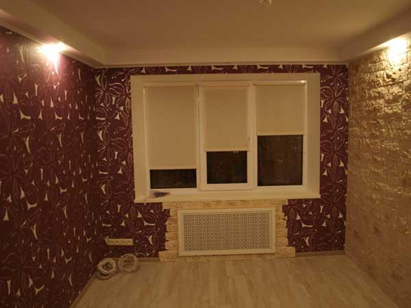 Шестой этап ремонта - отделка стен в квартире