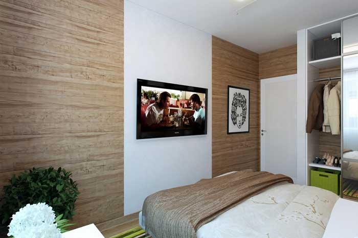 Комбинирование обоев в спальне. Оформление стен под ререво
