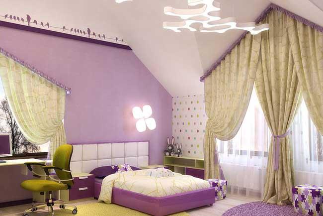 Дизайн комнаты для девочки 8 кв м