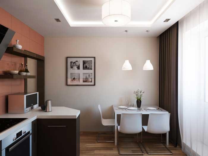 Интерьер однокомнатной квартиры. Фото 13