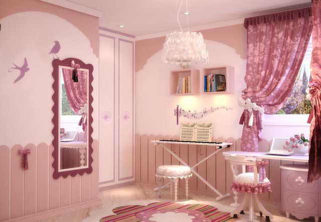 Дизайн детской комнаты для девочки в хрущевке
