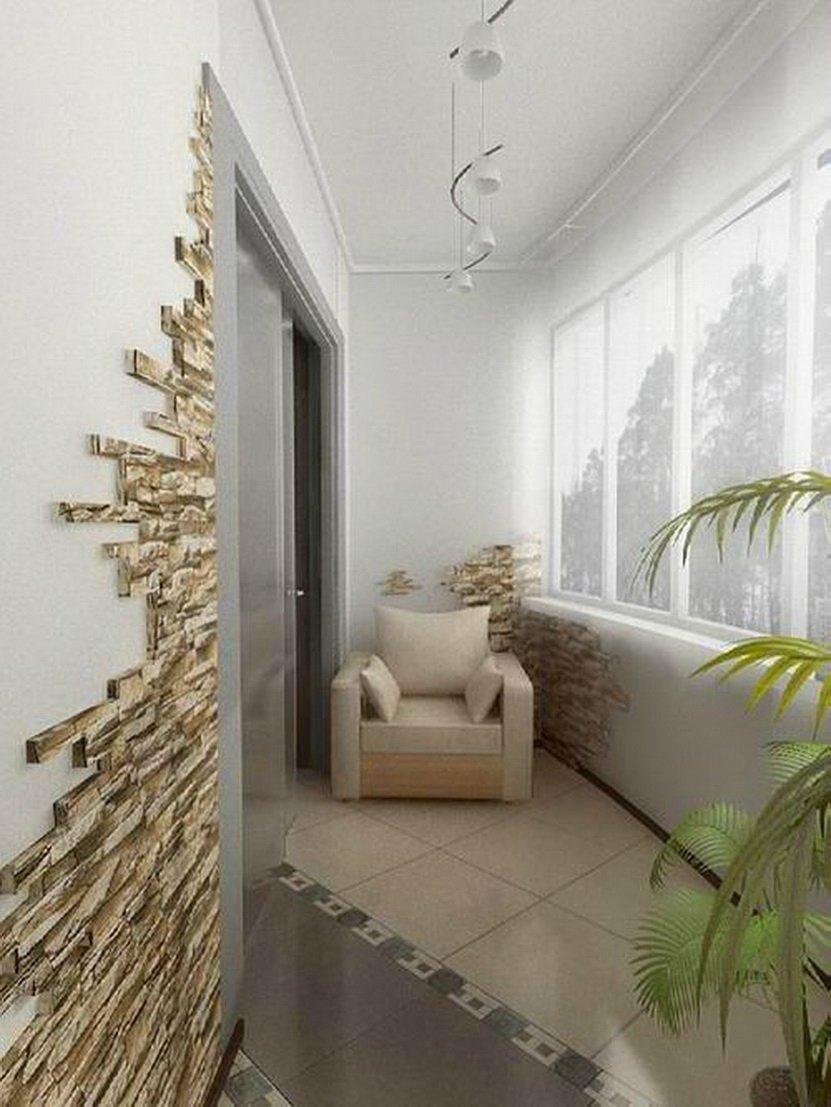 Дизайн отделки стен штукатуркой
