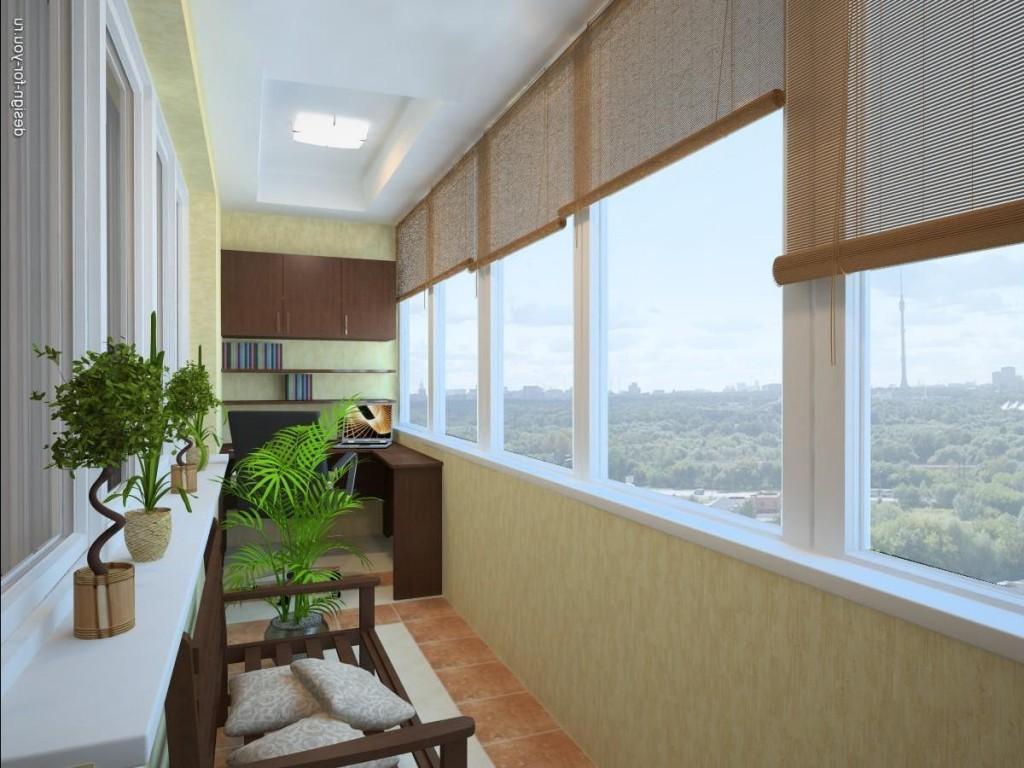 Дизайн окна лоджии фото