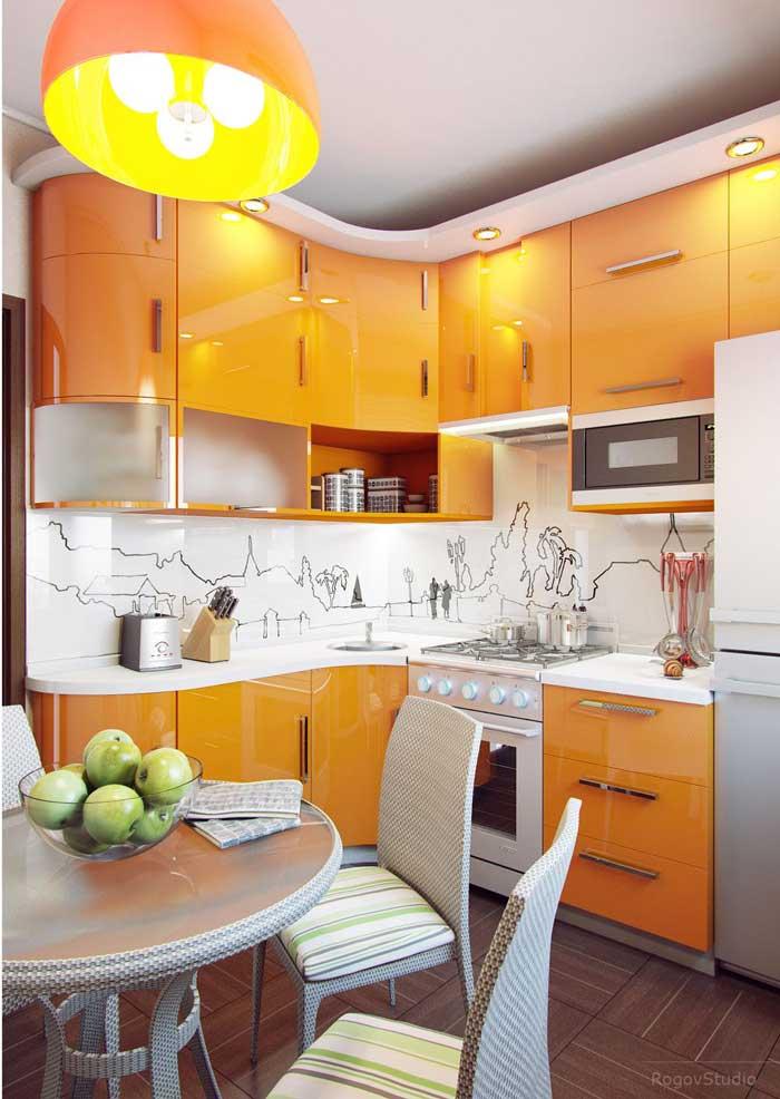 Дизайн кухни для хрущевки. Фото 5