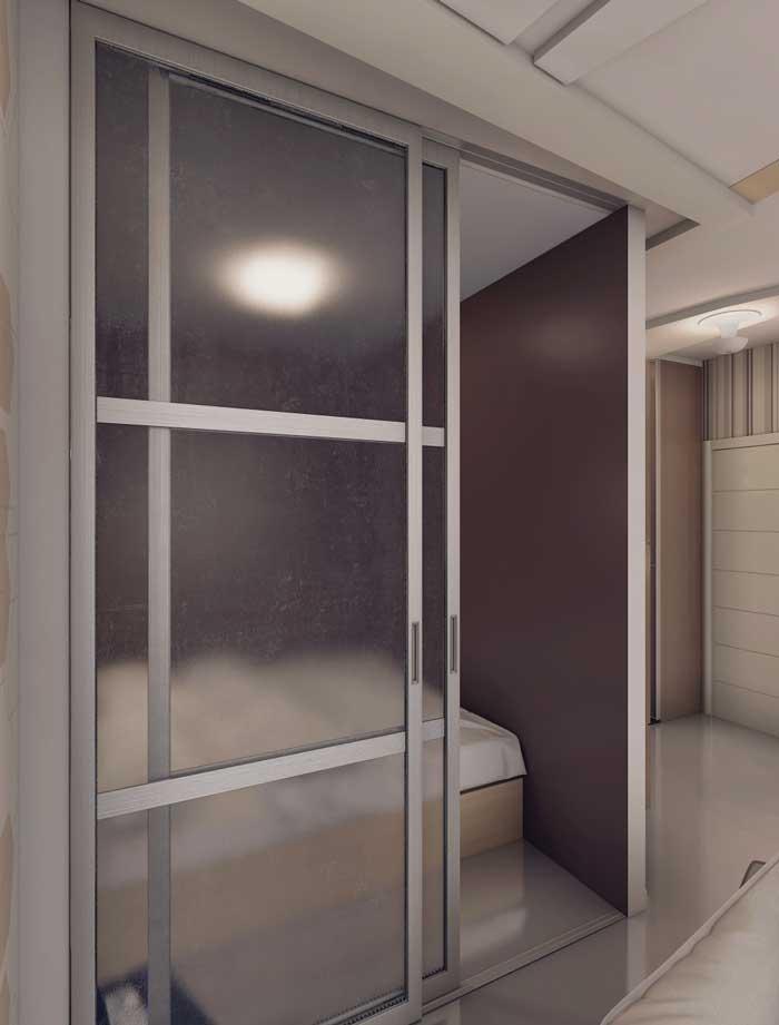 Декоративная перегородка в дизайне квартиры для зонирования