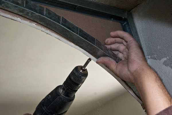 Как сделать арку из гипсокартона своими руками крепим листы