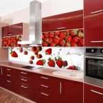 Фото кухни в красном цвете