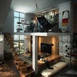 Декоративный кирпич в интерьере. Фото