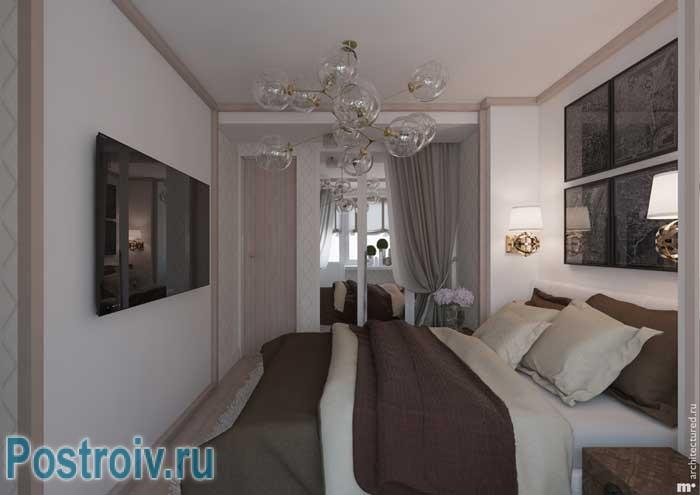 Красивый ремонт в спальне. Фото 17