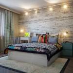 Оформления спальни обоями дизайн проект