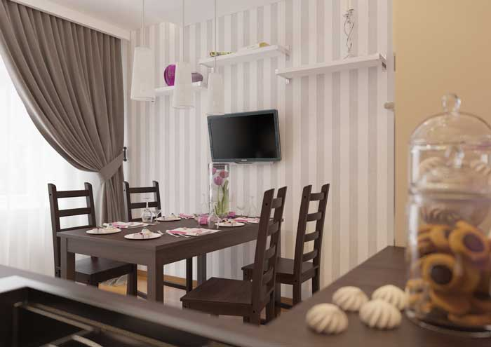 Кухня 12 метров дизайн. Фото 2