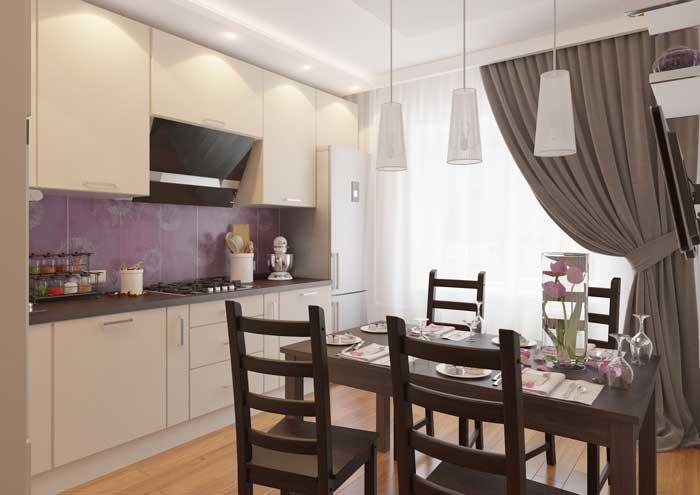 Дизайн кухни 12 кв метров. Фото 1