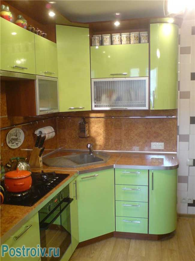 дизайн кухни своими руками 9 кв.м