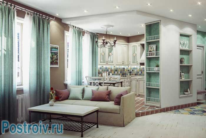 Дизайн интерьере в стиле прованс. Фото