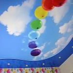 Фотопечать на потолке для мальчика 8, 9, 10, 11 лет - дизайн комнаты