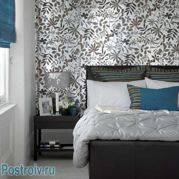 Tapete Im Schlafzimmer Hat Eine Wichtige Rolle Bei Der Richtigen  Konstruktion, Weshalb Sollten Sie Sehr Sorgfältig Ausgewählt Werden.