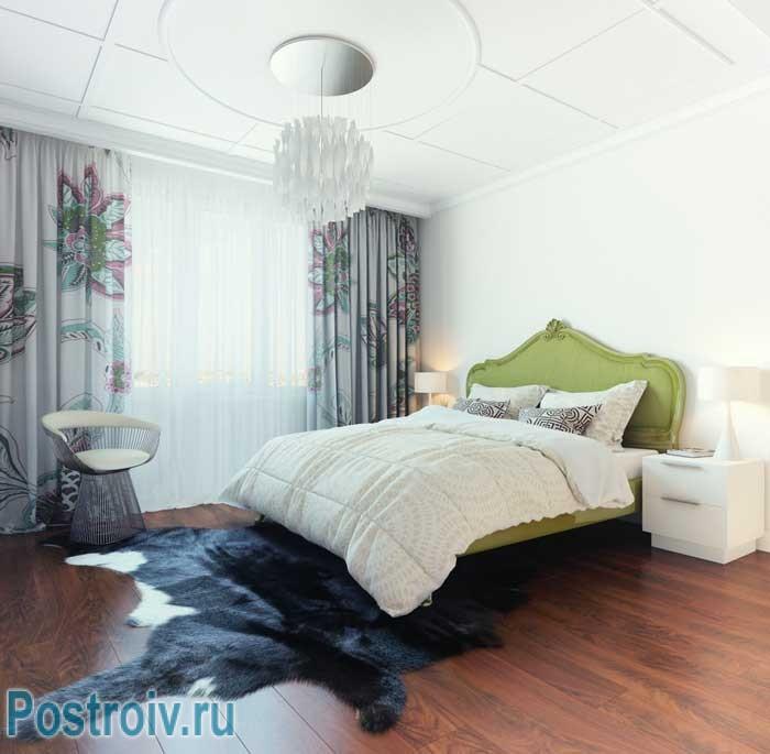 Спальня в стиле поп-арт. Фото