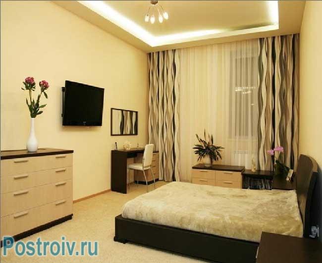 Шторы для большой комнаты