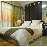 Дизайн модных штор в спальню 2014
