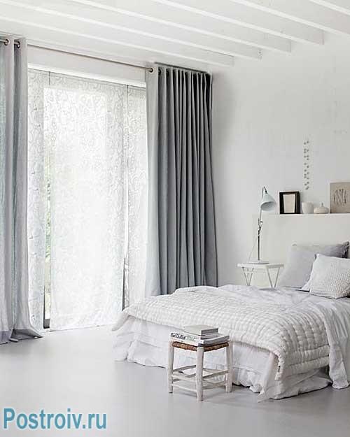 Шторы для спальни - плотные