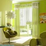 Уютные светлые шторы для подростковой комнаты
