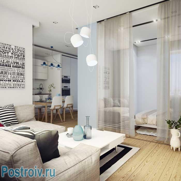 Превосходное сочетание цветов в интерьере квартиры. Фото